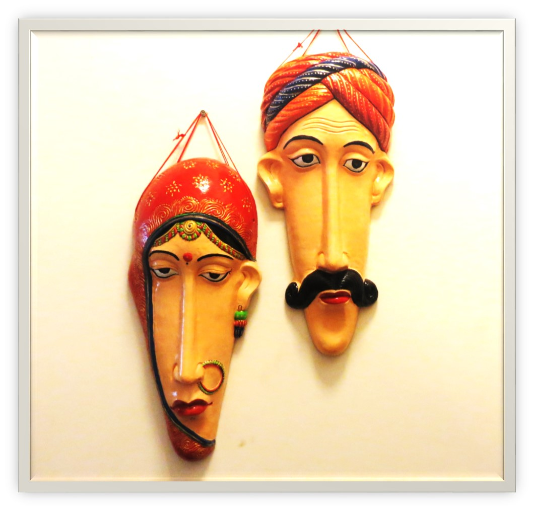 I Have Hand Painted Lots Of Terracotta Products For Home Decor Which Includes Vases Pots Masks Hangings And Planters