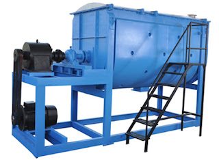 Ribbon Blender for mixing material