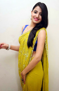 Actress Ruksar Meer  Hot Saree Stills Latest