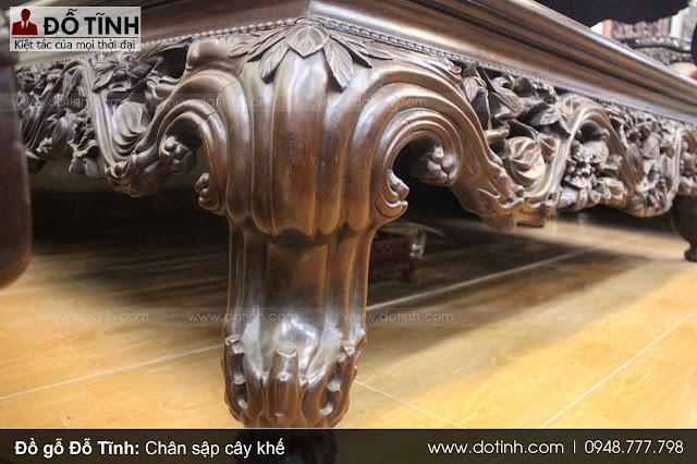 Mẫu chân sập gỗ cây khế - Tượng trưng cho sự vững trãi