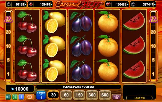 Jucat acum Caramel Hot Slot Online