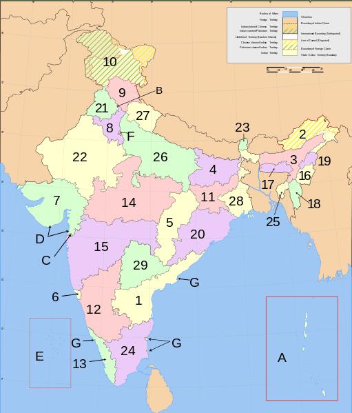 Pembagian administratif di India
