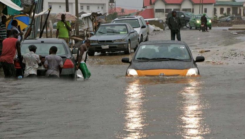 extreme flooding lagos