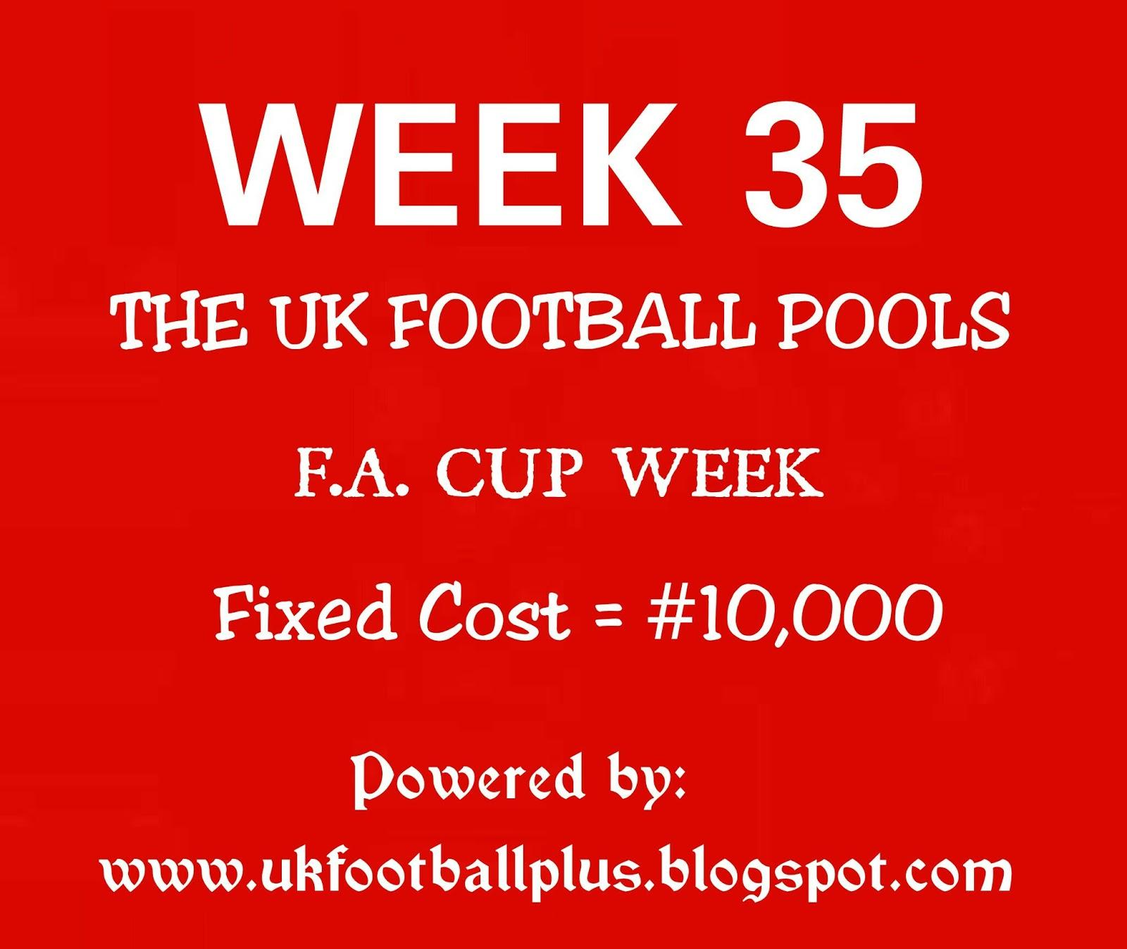 WEEK 35: UK FOOTBALL POOLS | 11-03-2017 | www ukfootballplus