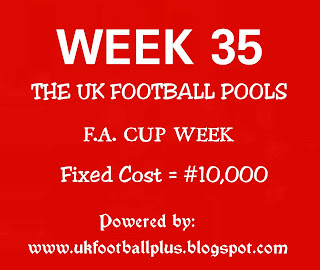 Week 35 football pools draws and information on coupon