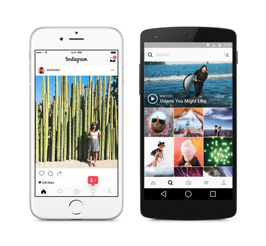 App design for Instagram
