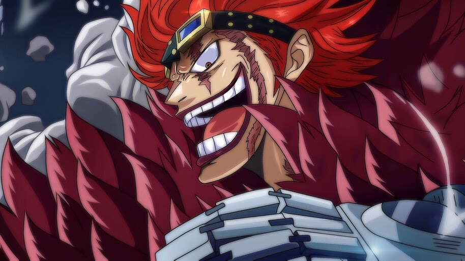 Eustass Kid, One Piece, 4K, #6.19