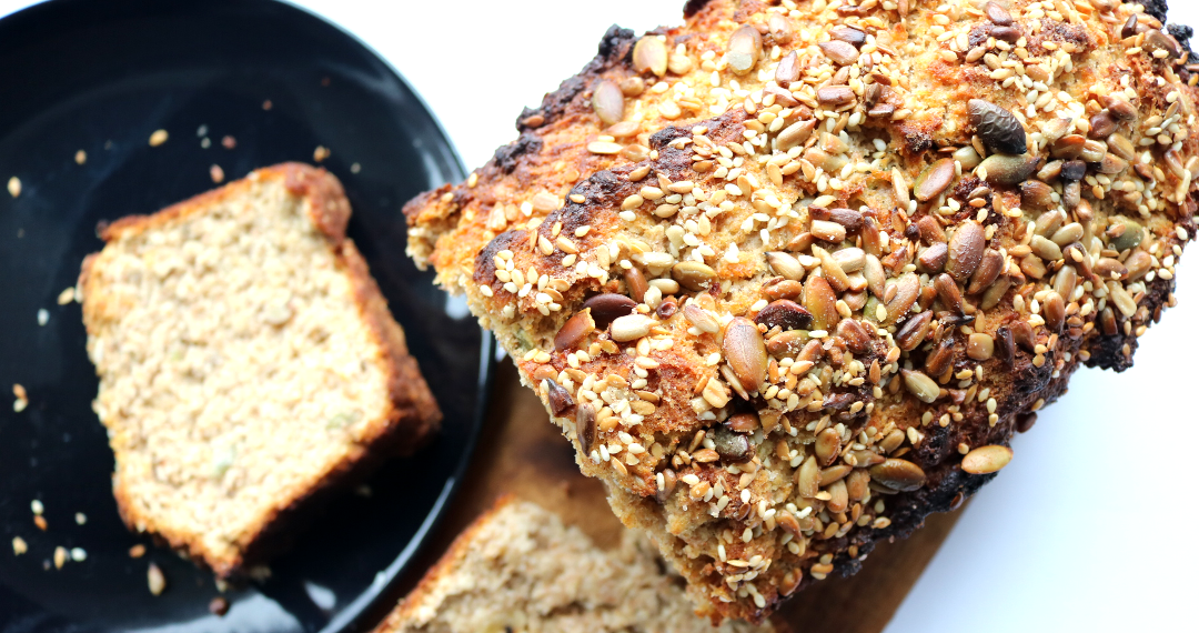 Homemade Seeded Soda Bread (Elly Pear recipe)