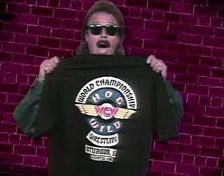 WCW HOG WILD 1996: Jimmy Hart shilling epic merchandise