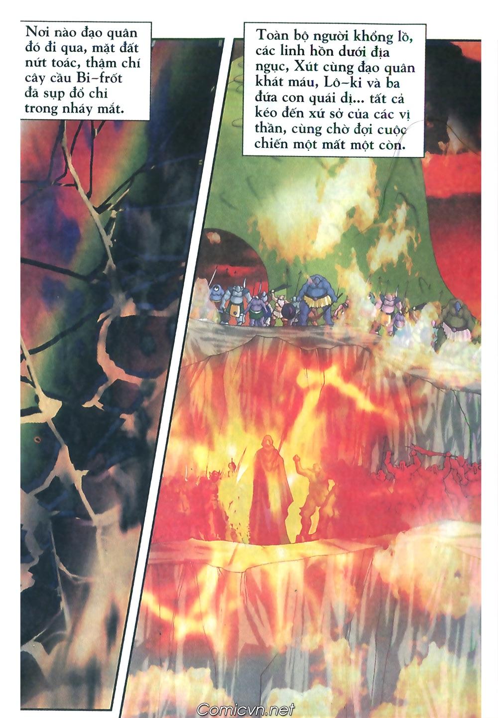 Thần thoại Bắc Âu - Chapter 48: Cuộc chiến Ragnarok - Pic 37