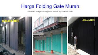 Daftar Harga Folding Gate Rp permeter Persegi