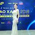 Hoa hậu Châu Ngọc Bích kiêu sa trong sự kiện Ngôi sao xanh