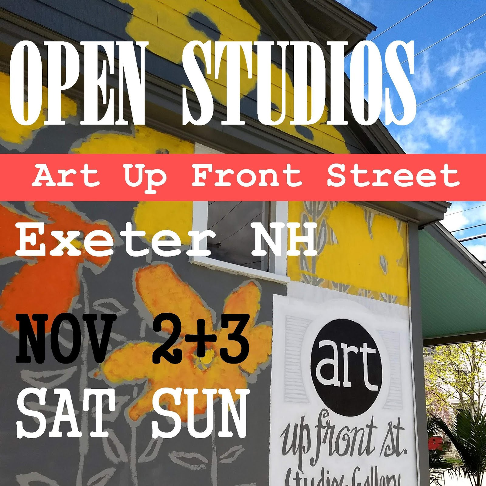 EVENT: OPEN STUDIOS NOV 2+3