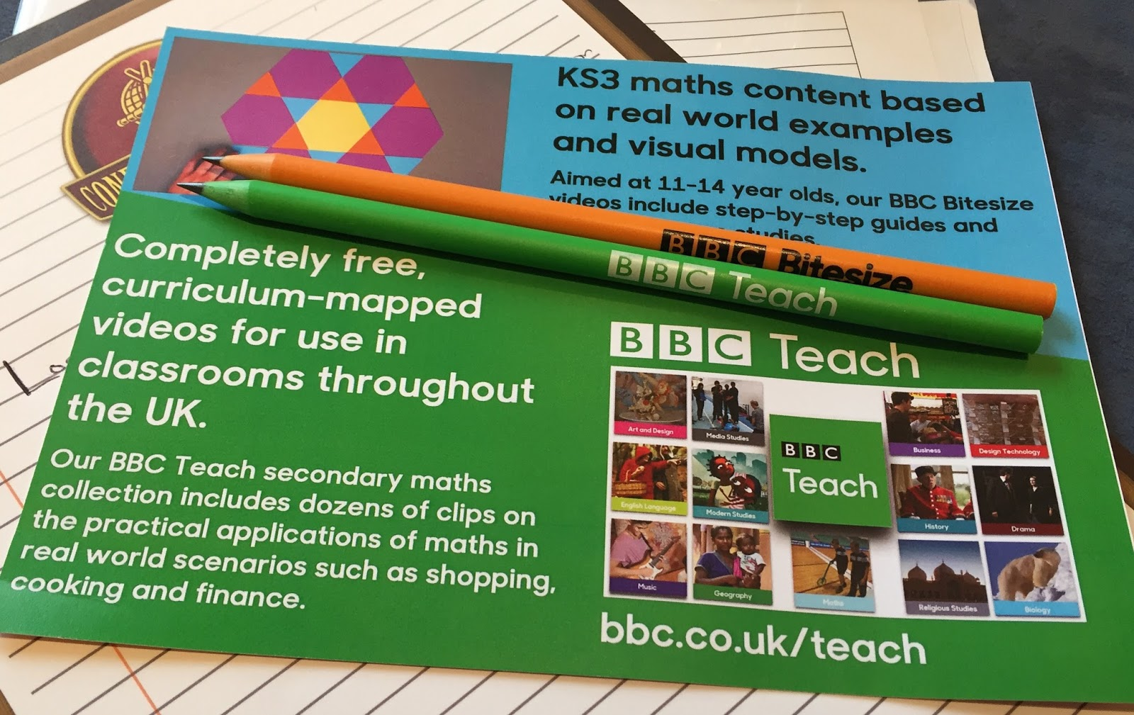 I Was Surprised To See A Bbc Stand As I've Not Seen One At A Maths  Conference Before  They Told Me About Their New Maths Videos For Use In  The Classroom