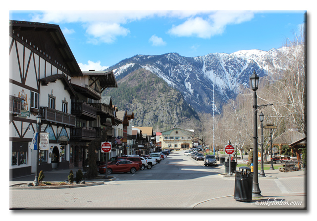 Street view in Leavenworth Washington