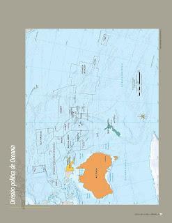 Apoyo Primaria Atlas de Geografía del Mundo 5to. Grado Capítulo 3 Lección 1 División Política de Oceanía