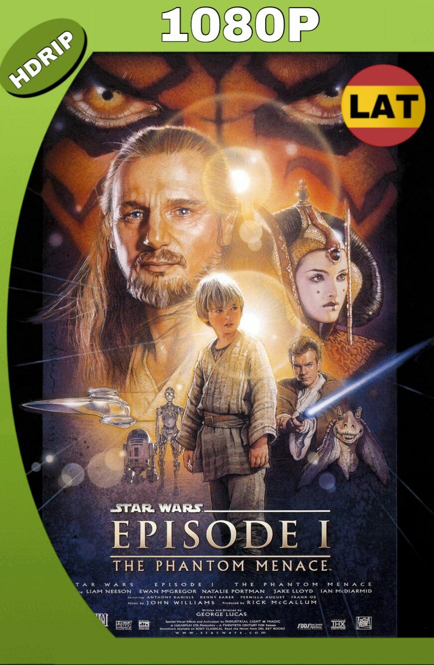 STAR WARS: EPISODIO I – LA AMENAZA FANTASMA (1999) HD 1080P LATINO