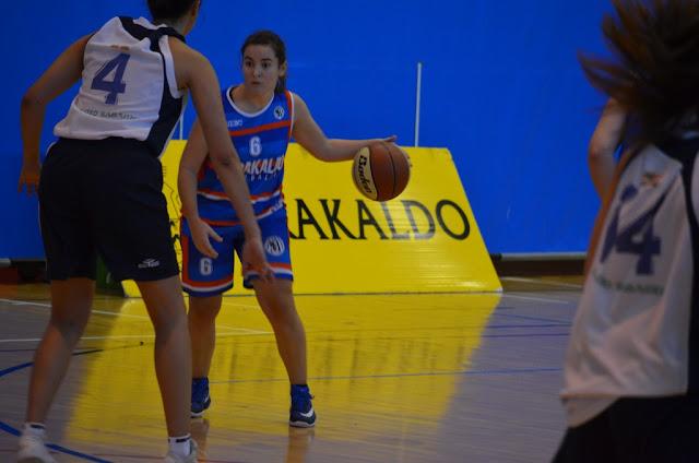Baloncesto | Un triple sobre la bocina de Idoia Bilbao da el triunfo a las sénior del Barakaldo EST