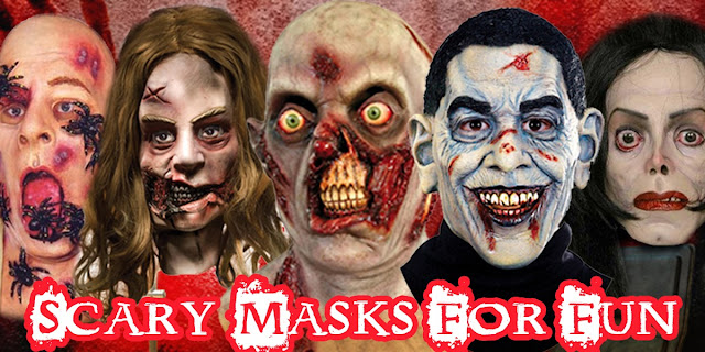 Halloween Extremely Masks Zombie Scary