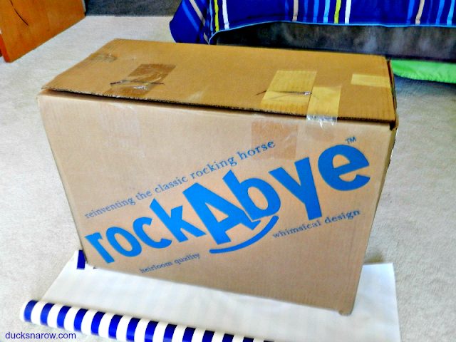 how to wrap a big box
