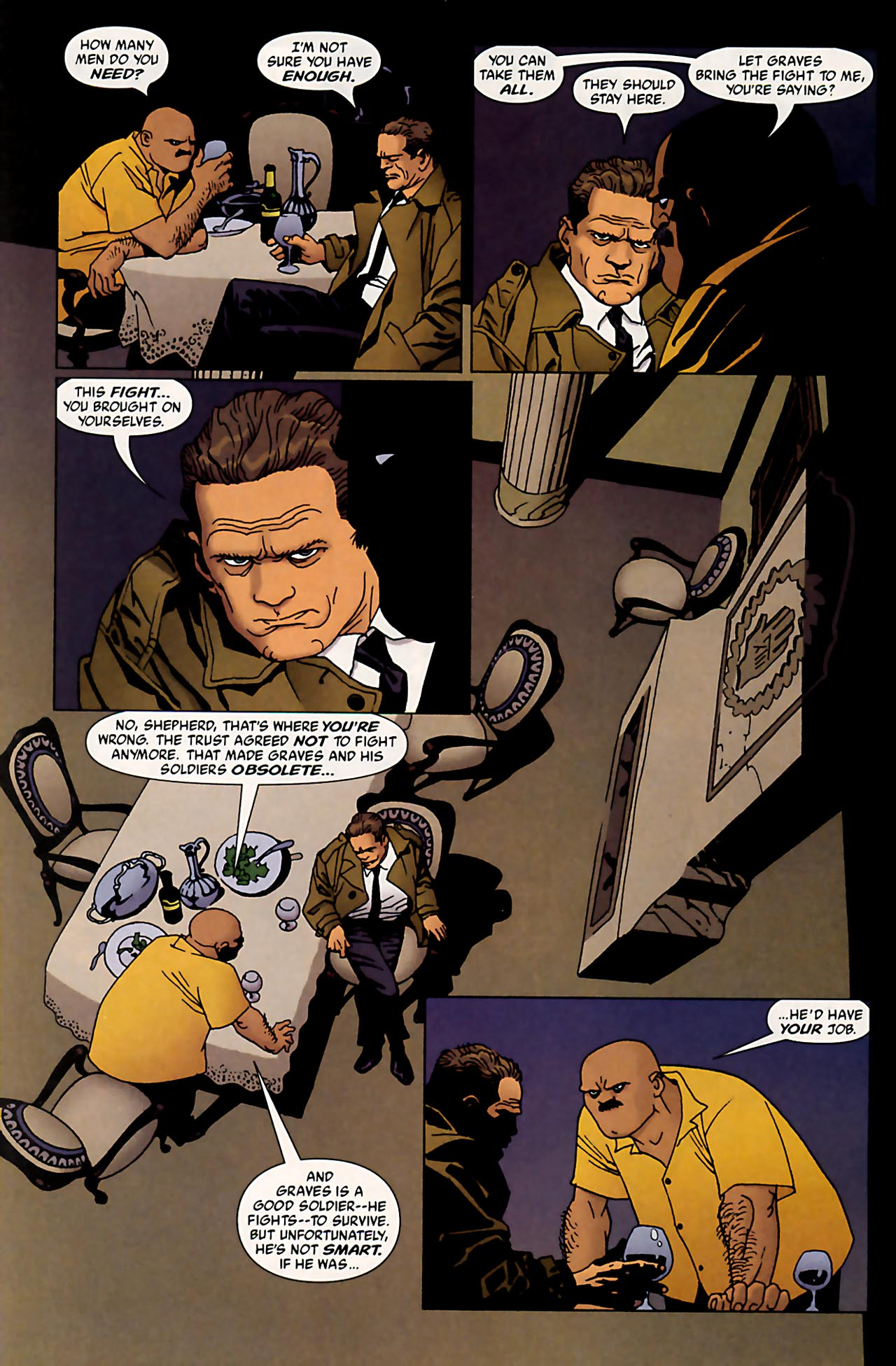Read online 100 Bullets comic -  Issue #53 - 3