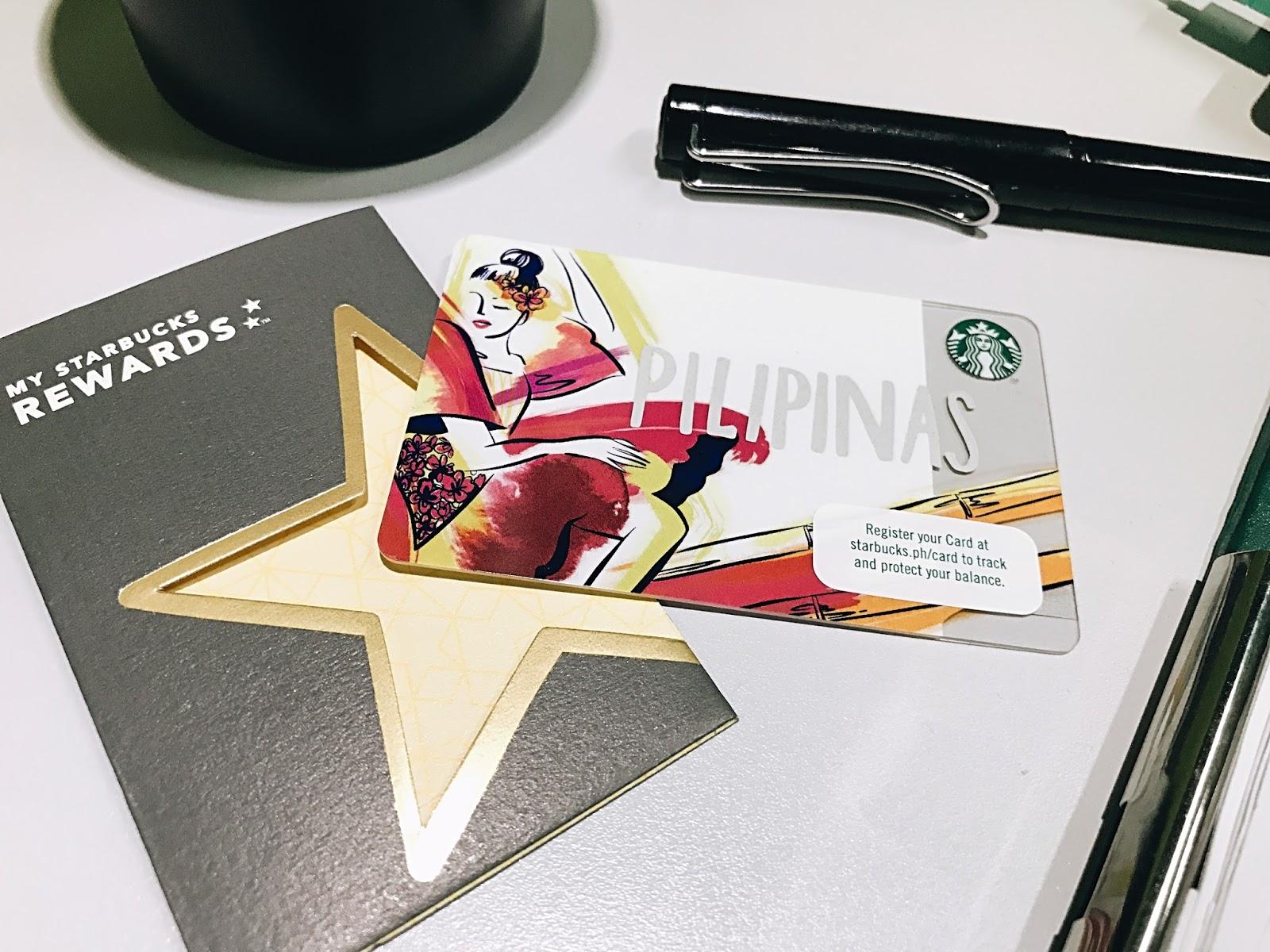 2017 Starbucks Pilipinas Card