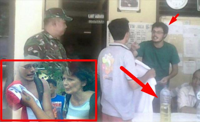 Kesal, Turis Rusia Ngamuk Hampir Bakar Bendera Indonesia