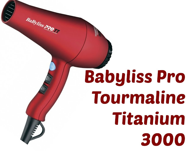 Click here to buy Babyliss Pro Tourmaline Titanium 3000 is a perfect hair dryer for natural hair