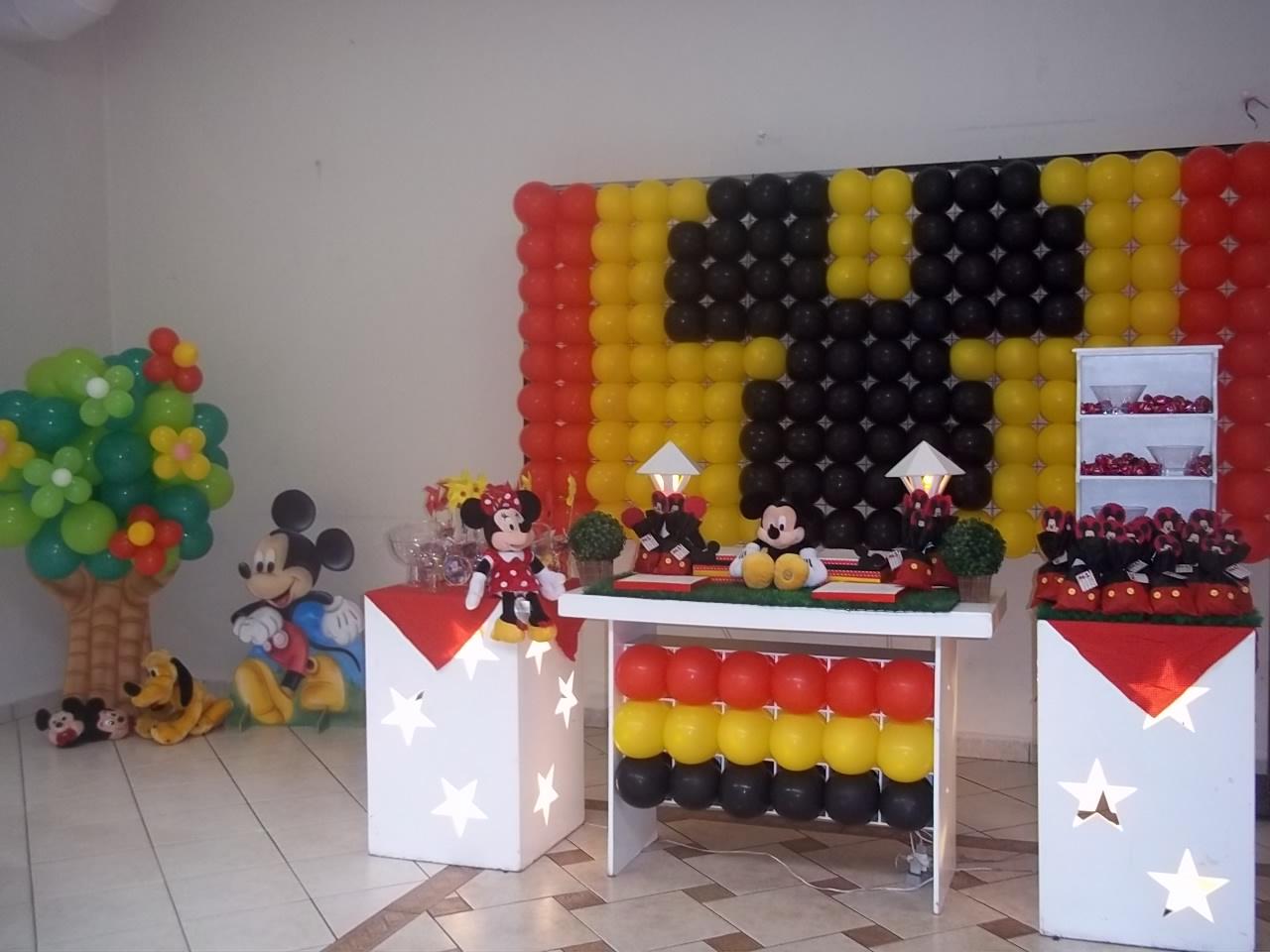 B.abá Festas: Festa Minnie Vermelha