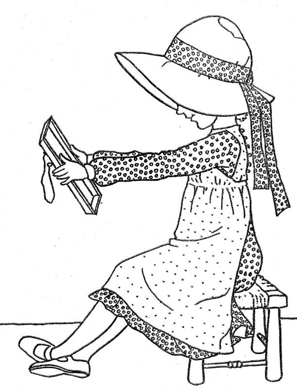 coloring pages holly - photo#33