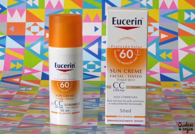 CC Cream com FPS 60 para pele clara da Eucerin