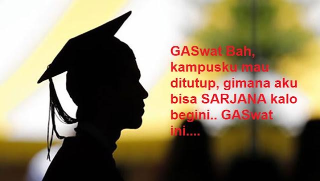 GASWAT Bah!  14 PTS Terancam Tutup di Sumut, Jangan Mendaftar! Ini Dafarnya.