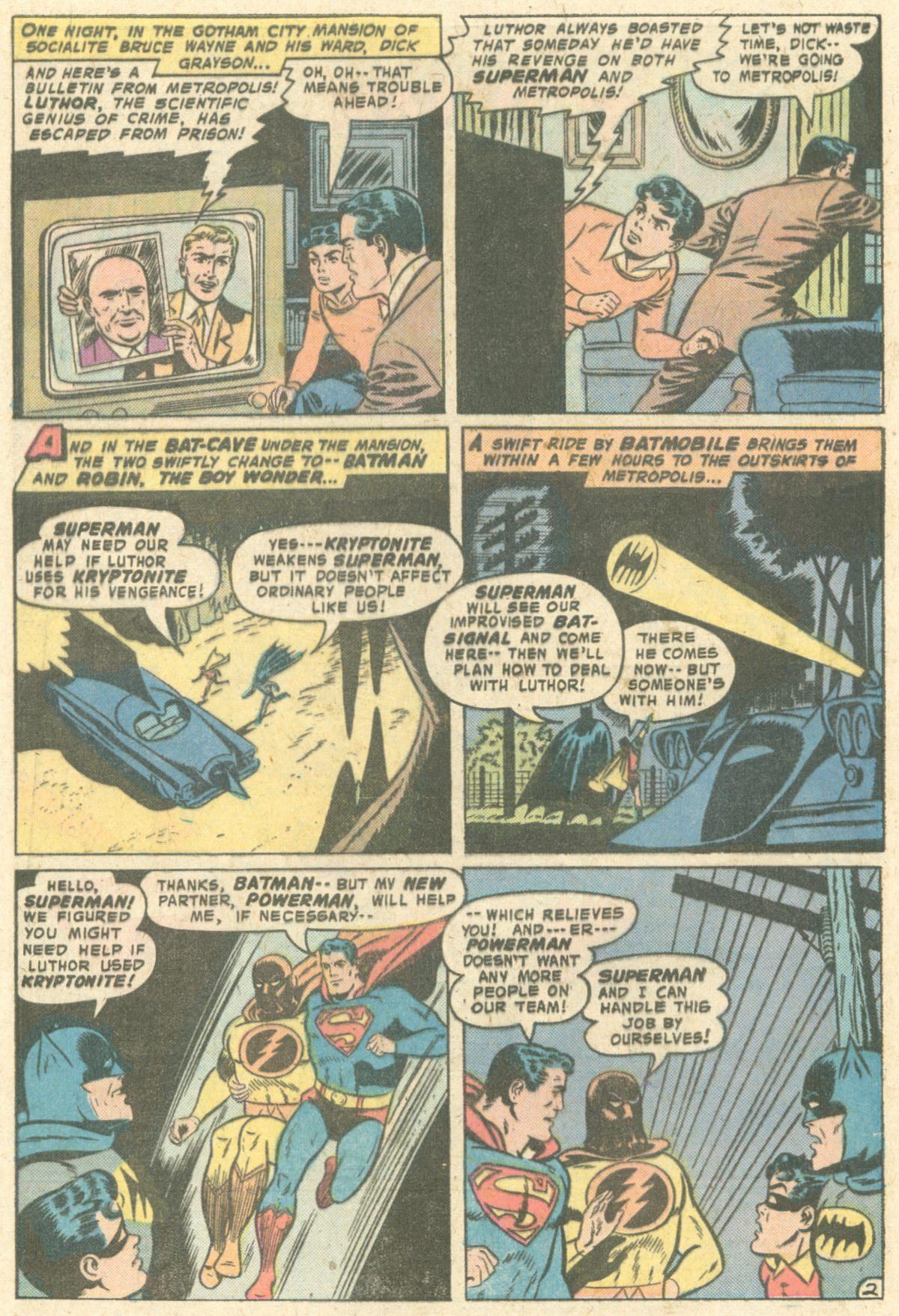 Read online World's Finest Comics comic -  Issue #229 - 4