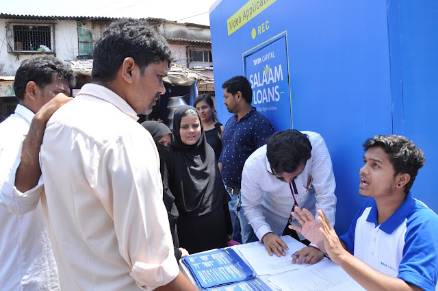 Tata Capital brings the 'Salaam Loans' initiative to deserving individuals in Mumbai's Dharavi and Golibar area