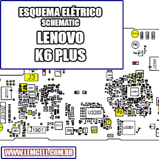Esquema Elétrico Smartphone Lenovo K6 Plus Manual de Serviço   Service Manual schematic Diagram Cell Phone Smartphone Celular Lenovo K6 Plus      Esquematico Smartphone Celular Lenovo K6 Plus