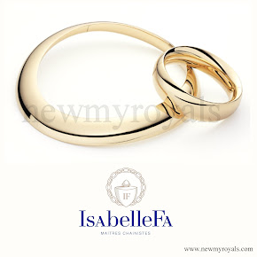 Queen Maxima Jewelry IsabelleFa gold necklace