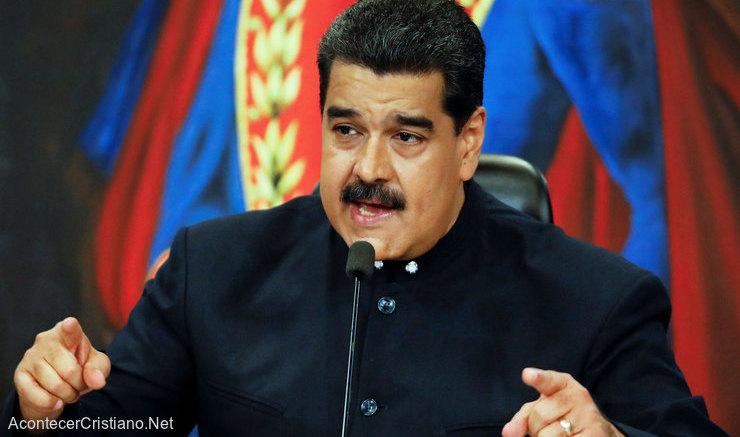 Nicolás Maduro desafía a Jesucristo