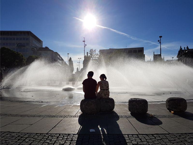 Stachus-Brunnen-München