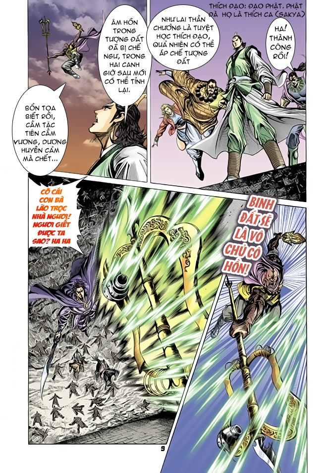 Đại Đường Uy Long chapter 64 trang 9