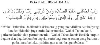 Doa-doa Nabi Ibrahim AS Dalam Al-Qur'an Yang Sangat Mustajab