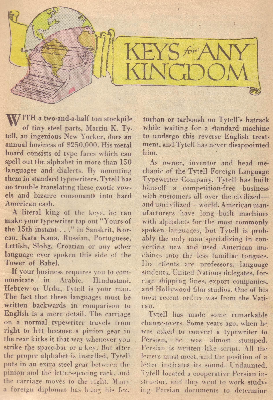 Read online Detective Comics (1937) comic -  Issue #177 - 31