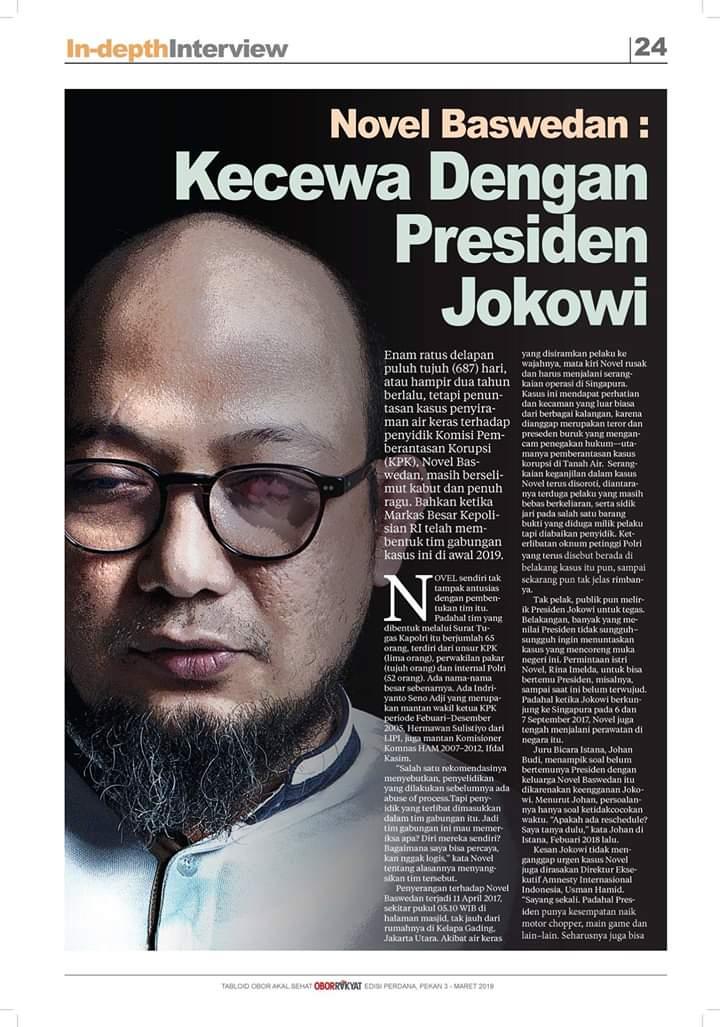 Dua Kali Gagal Launching, Isi Tabloid Obor Rakyat Ini Ganggu Kepentingan Elit?