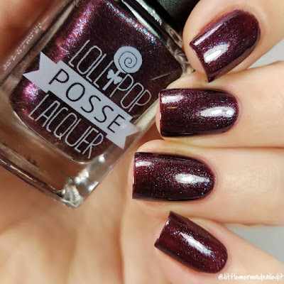 Lollipop Posse Lacquer Murmaider The Really Effing Brutal Trio Swatches and Review