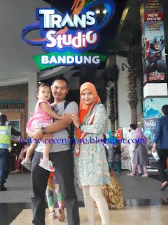 Keluarga Arisandy Joan Hardiputra - Trans Studio Bandung