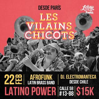 Concierto de LES VILAINS CHICOTS en Bogotá