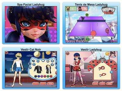 Nuevos juegos de Ladybug en español
