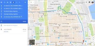 Medianeras - Roteiro de Locações no Google Maps