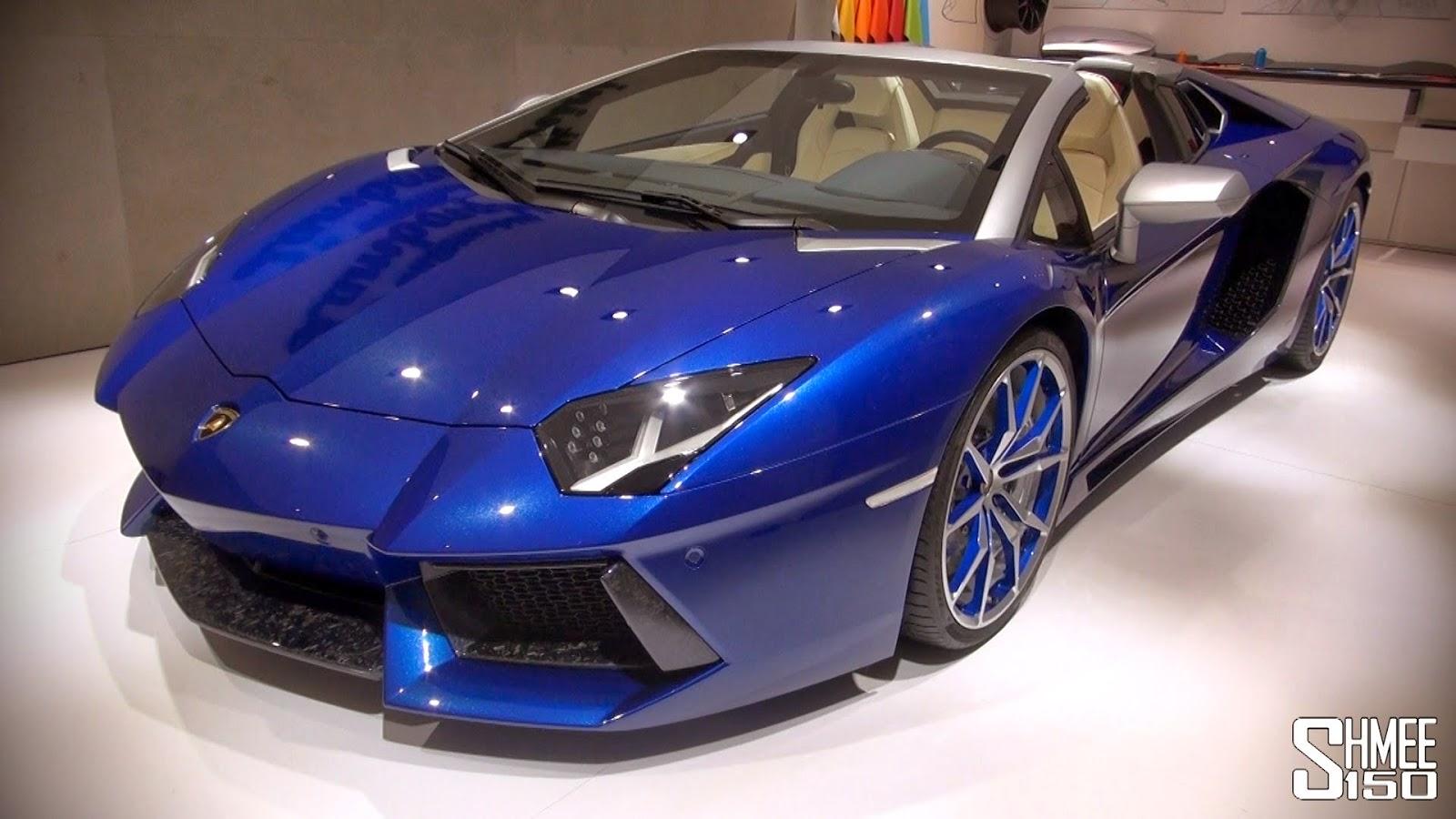 Luxurylifestyle Lamborghini Aventador Roadster Ad Personam