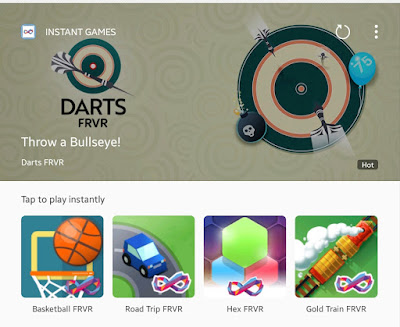 INSTANT GAMES For Samsung Play in The Browser (No Apk)