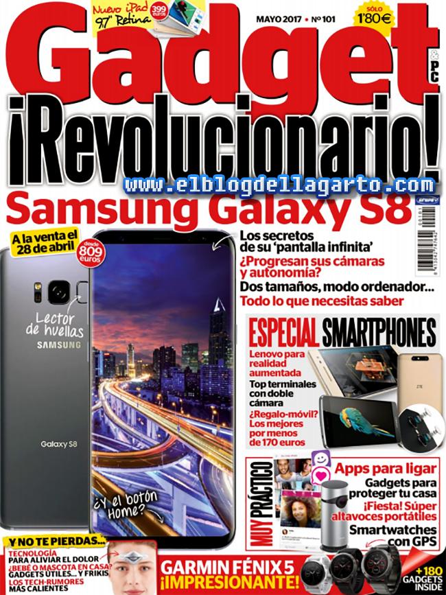 Gadget España - Mayo 2017 - ¡Revolucionario!, Samsung Galaxy S8